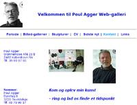 Poul Agger kunstmaler skulptør kunstner artist art painting oil acryl web gallery galleri billeder Grønningen