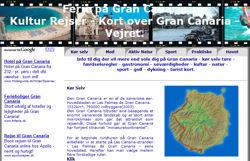 Info til dig der vil mere end sole dig på Gran Canaria - kør selv ture - gastronomi - færdselsregler - seværdigheder - kultur - natur - sport - golf - dykning - turist kort.