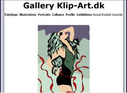 Klip Art - På disse sider vil du finde et udvalg af mine malerier, portrætter, collager og illustrationer.