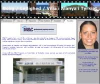 Lejlighed og Villa i Tyrkiet. Bolig investering - køb med vores totalservice. Vi guider dig og hjælper dig igennem alle spørgsmål der måtte dukke op. Lejlighed med Havudsigt og eller bjergudsigt - M&C Property Real Estate i Tyrkiet sælger ejendom / lejlighed / bolig i Alanya, Mahmutlar, Side og Kemer