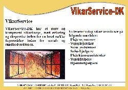 VikarService-dk Pleje og omsorg Sygeplejersker SoSu-assistenter SoSu-hjælpere Plejehjemsasssistenter